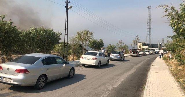 Hatay'daki yangında 542 kişi tahliye edildi