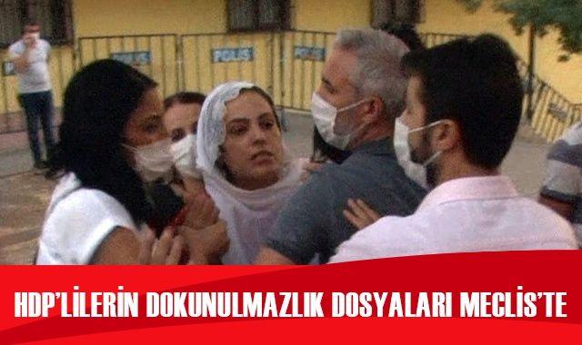 HDP'li vekillerin dokunulmazlık dosyaları Meclis'te