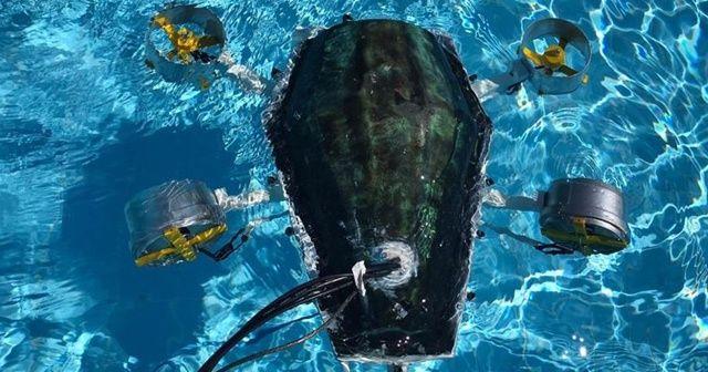 Kaplumbağadan ilham alan üniversiteli 7 genç 'su altı drone' prototipi üretti