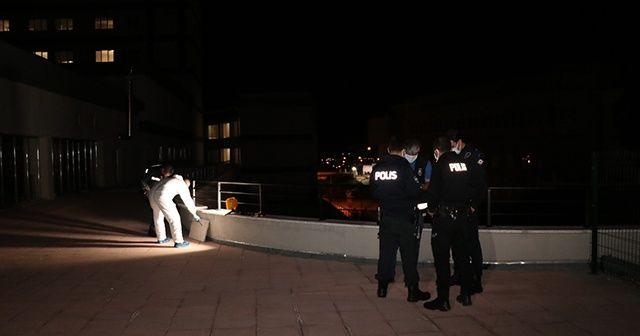 Kovid-19 hastası hastaneden kaçarken balkondan düştü