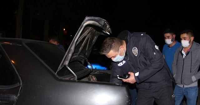 Kula'da çalınan otomobil 45 dakika sonra bulundu