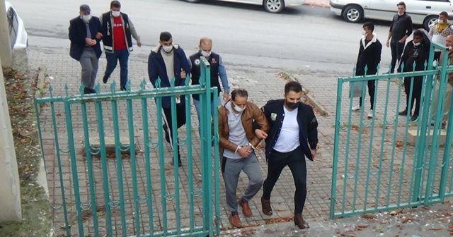 Kütahya'da yakalanan 4 DAEŞ zanlısı adliyeye sevk edildi