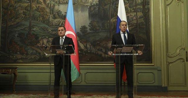 Lavrov ve Bayramov, Dağlık Karabağ'daki durumu görüştü