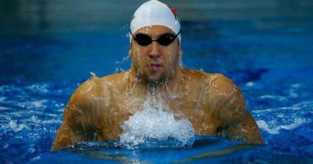 Milli yüzücü Emre Sakçı'dan Avrupa rekoru