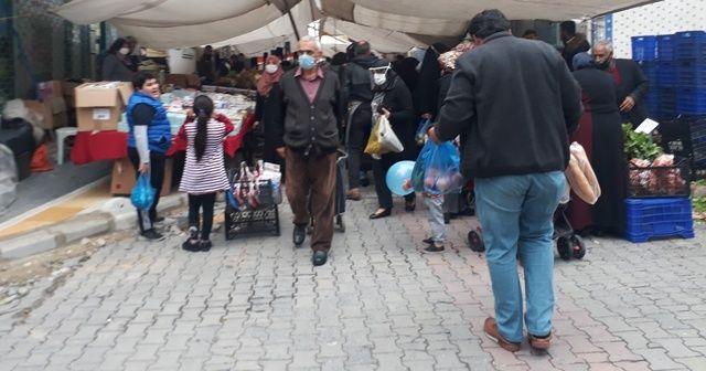 Pazar vatandaşlara zor anlar yaşatıyor