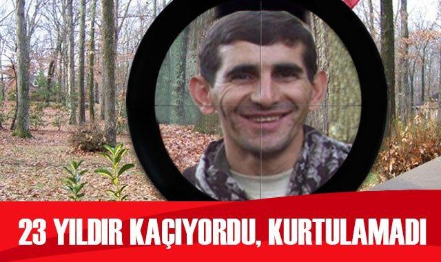 PKK'nın dağ kadrosunda 23 yıldır faaliyet yürüten terörist etkisiz hale getirildi