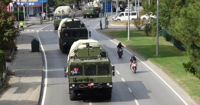 S-400'ler Ankara'ya gitmek için yola çıktı
