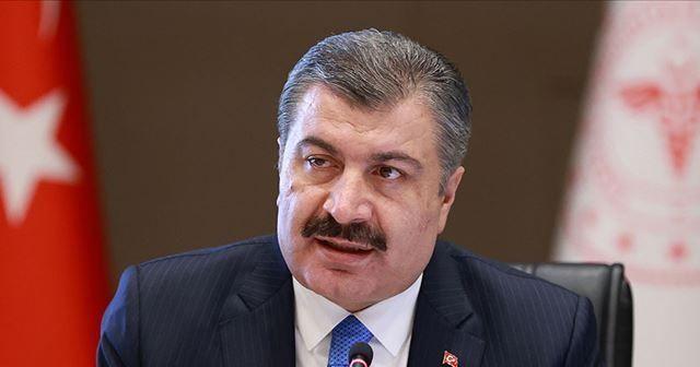 Sağlık Bakanı Koca, Ersin Tatar'ı tebrik etti