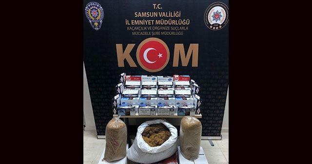 Samsun'da kaçakçılıkla mücadeleye devam