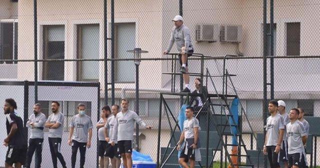 Sergen Yalçın Beşiktaş idmanına damga vurdu