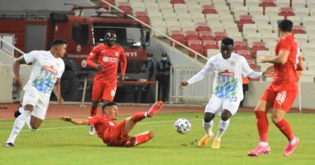 Sivasspor evinde galibiyeti ve golü unuttu