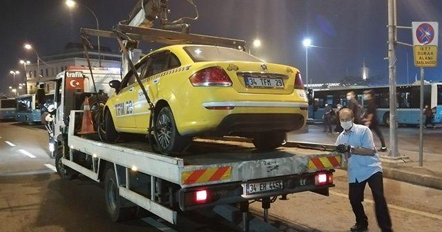 Taksicilere yönelik denetim yapıldı