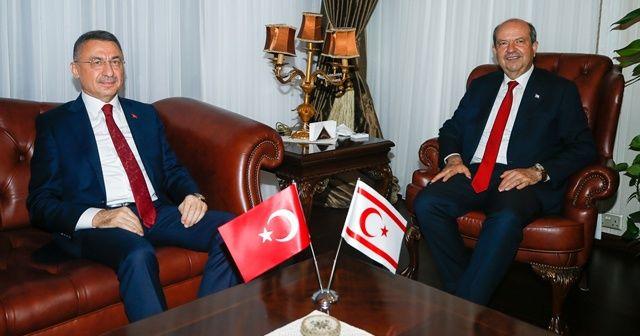 Tatar'ın ilk konuğu Cumhurbaşkanı Yardımcısı Oktay oldu