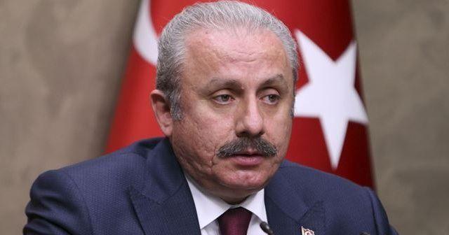 TBMM Başkanı Mustafa Şentop, Ersin Tatar'ı tebrik etti