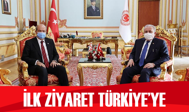 TBMM Başkanı Şentop ile KKTC Cumhurbaşkanı Tatar görüştü
