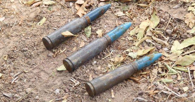 Temizlik yaparken uçaksavar mermileri buldu