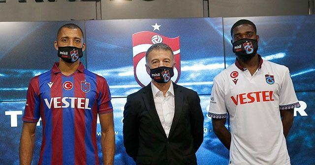 Trabzonspor yeni transferleri için imza töreni düzenlendi