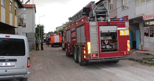 Tüp deposu yanındaki yangın paniğe neden oldu