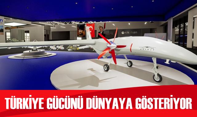 Türkiye savunma gücünü dünyaya gösteriyor: Akıncı, TB2, ATAK bir arada