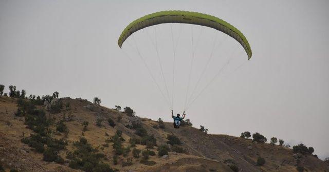 Türkiye Yamaç Paraşütü Hedef Şampiyonası'nın finali Şırnak'ta başlıyor