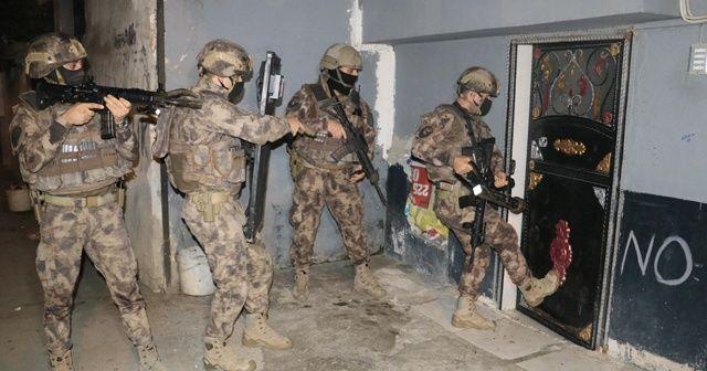 Uyuşturucu tacirlerine şafak operasyonu: 36 gözaltı kararı