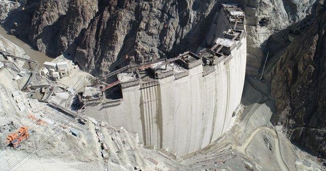 Yusufeli Barajı inşaatı böyle yükseliyor