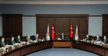 AK Parti MYK Cumhurbaşkanı Erdoğan liderliğinde toplandı