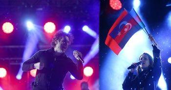 Ankara'da Azerin ve Kıraç'tan Cumhuriyet Bayramı konseri