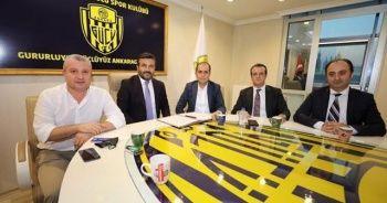 Ankaragücü'nün forma sponsoru belli oldu