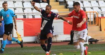 Antalyaspor'da Sidney Sam hem attı, hem atıldı