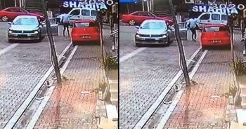 Araçtan inen saldırgan kurşun yağdırdı