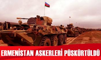 Azerbaycan askerleri, ateşkese rağmen saldıran Ermenistan askerlerini geri püskürttü