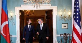 Azerbaycan Dışişleri Bakanı, Pompeo ile bir araya geldi