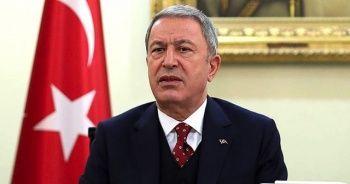 Bakan Akar: Ege ve Doğu Akdeniz'deki provokatif girişimler gerginliği tırmandırıyor