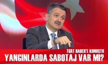 Bakan Pakdemirli TGRT Haber'de soruları cevapladı