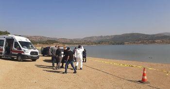 Barajda kıyıya vurmuş ceset bulundu