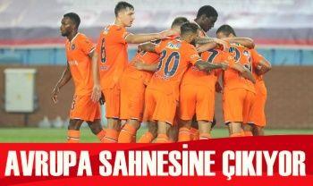 Başakşehir UEFA Şampiyonlar Ligi'nde sahaya çıkıyor