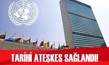BM: Libya'da tarihi ateşkes sağlandı
