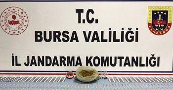 Bursa'da 851 adet uyuşturucu hap ele geçirildi