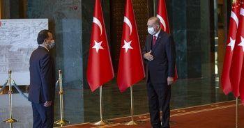 Cumhurbaşkanı Erdoğan Cumhuriyet Bayramı tebriklerini kabul etti