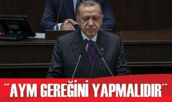 Cumhurbaşkanı Erdoğan'dan AYM üyesinin paylaşımı hakkında açıklama