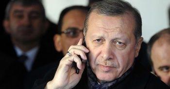 Cumhurbaşkanı Erdoğan'dan eski Sağlık Bakanı Osman Durmuş'un ailesine taziye telefonu