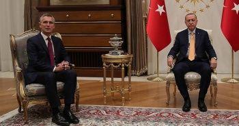 Cumhurbaşkanı Erdoğan ile NATO Genel Sekreteri Stoltenberg görüştü