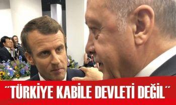 Cumhurbaşkanı Erdoğan: Türkiye kabile devleti değil
