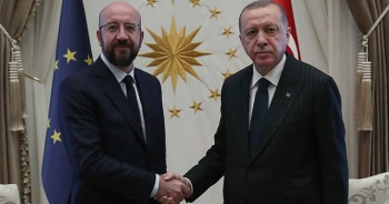 Cumhurbaşkanı Erdoğan, Michel ile AB ve Doğu Akdeniz'i konuştu