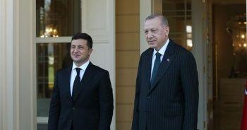Cumhurbaşkanı Erdoğan ve Zelenskiy görüşmesi sona erdi