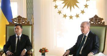 Cumhurbaşkanı Erdoğan, Zelenski ile bir araya geldi