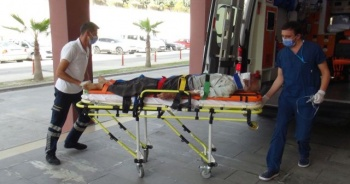 Evinde kanlar içinde bulundu! Hastanede hayatını kaybetti