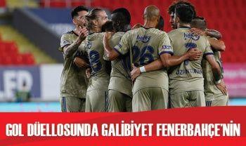 Fenerbahçe, Göztepe'yi 3-2 mağlup etti