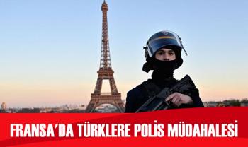 Fransa'da Ermeni eylemcileri protesto eden Türklere polis müdahalesi